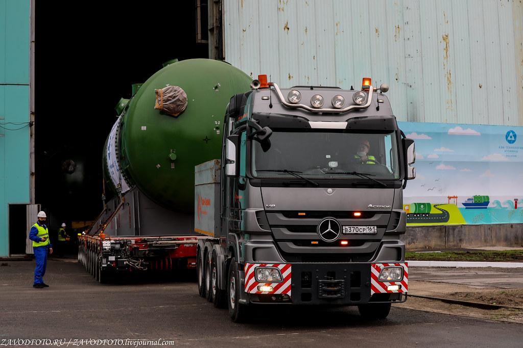 Как Атоммаш отправлял ценный груз на АЭС «Руппур» 999A9097