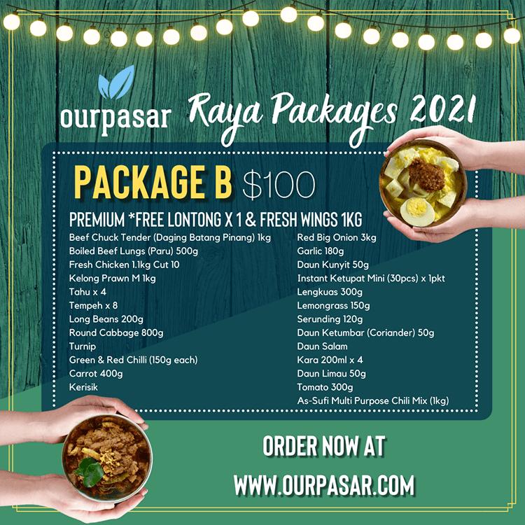 Ourpasar package B