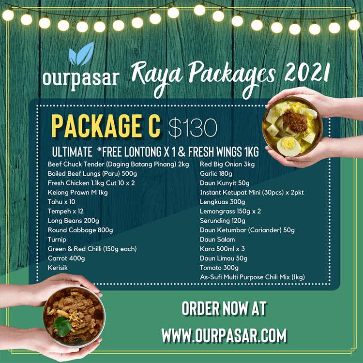 OurPasar raya promotion package C