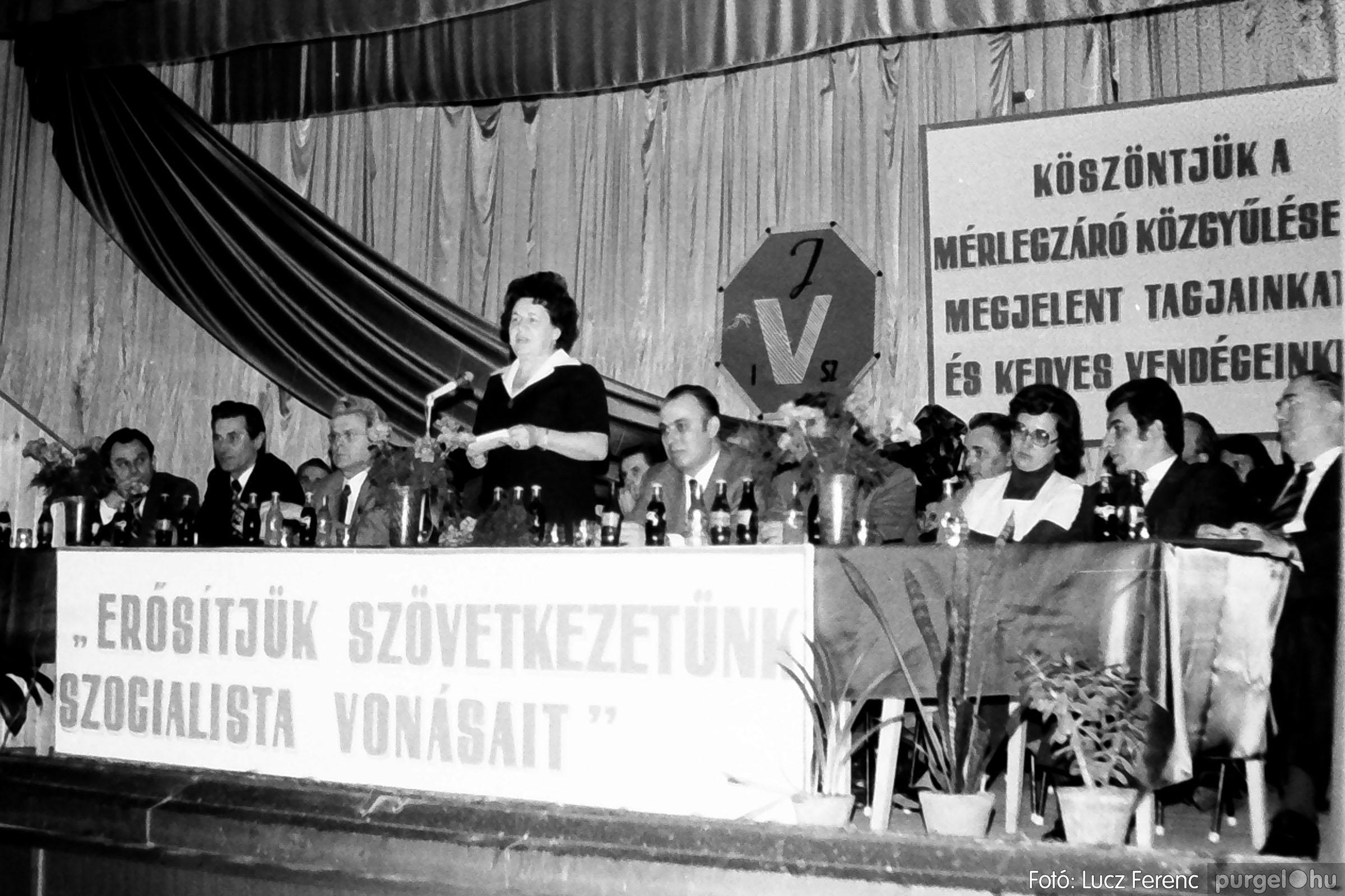 107. 1978. A KTSZ mérlegzáró közgyűlése 032. - Fotó: Lucz Ferenc.jpg