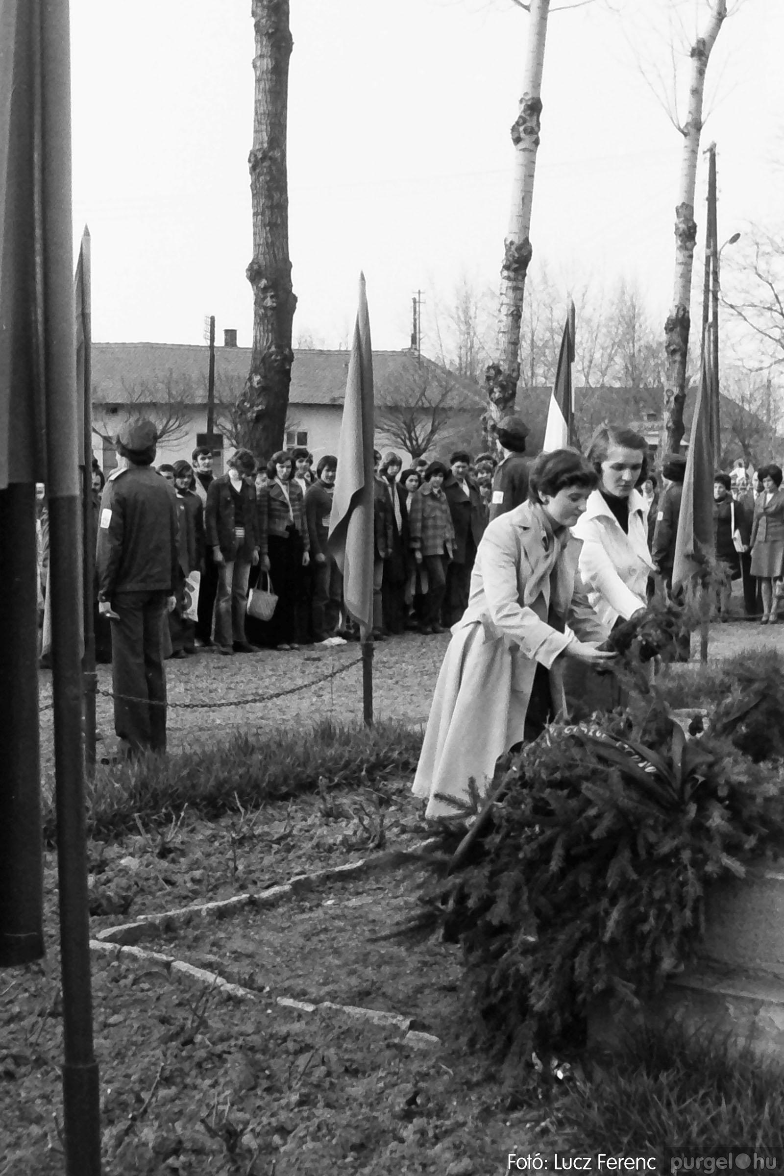 109. 1978. Április 4-i ünnepségek 016. - Fotó: Lucz Ferenc.jpg
