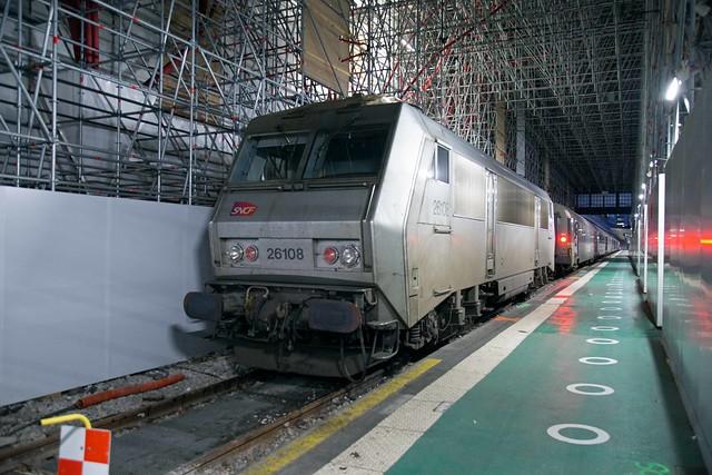 SNCF Fret 26108 Gare d'Austerlitz
