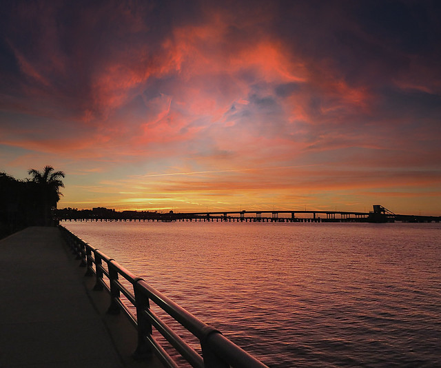 Sunset in Bradenton (FL)