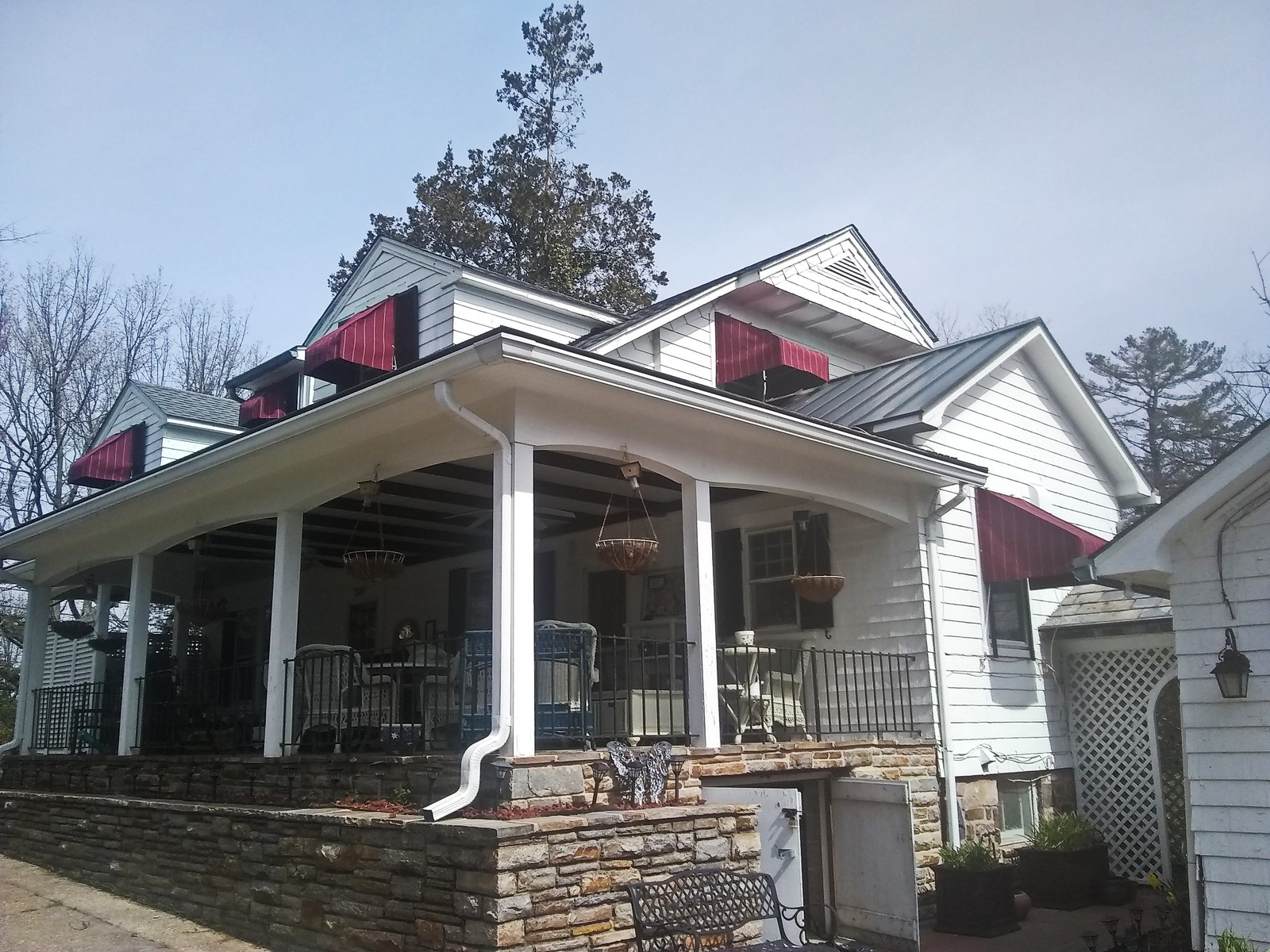 Residential Window Awnings - Hoffman