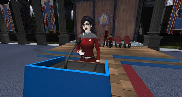 Captain Rowena Vandred-Rose - Academy Commandant
