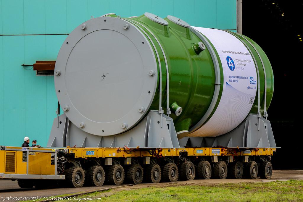 Как Атоммаш отправлял ценный груз на АЭС «Руппур» IMG_5071