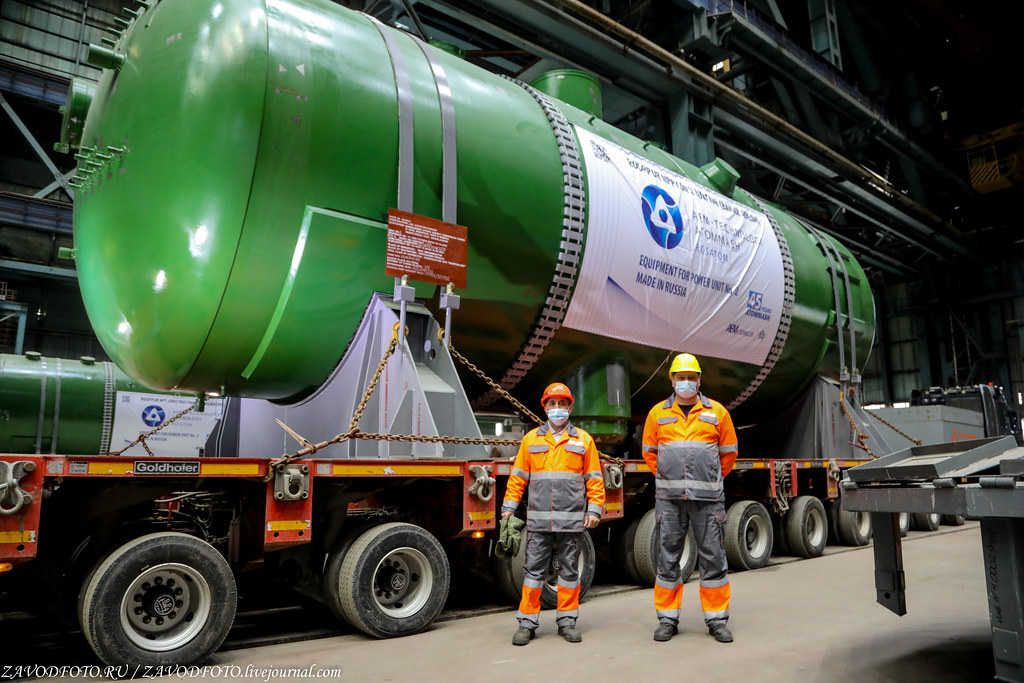 Как Атоммаш отправлял ценный груз на АЭС «Руппур» 999A8990