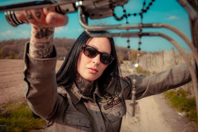 Lethal Threat | Down'N'Out Brand x Femke Fatale
