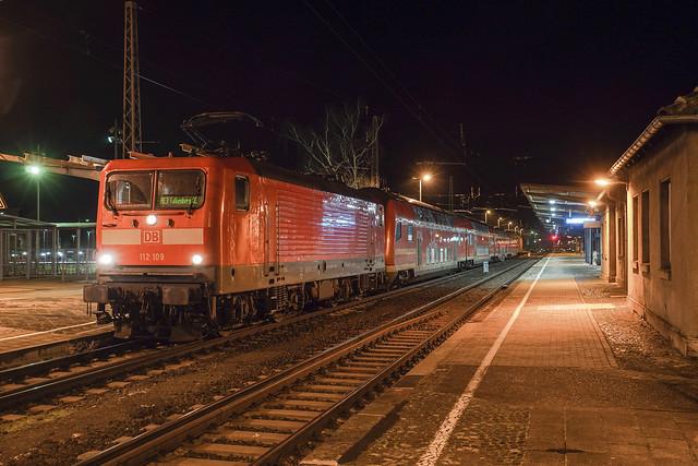 112 109 DB Regio AG   Falkenberg   Januar 2021