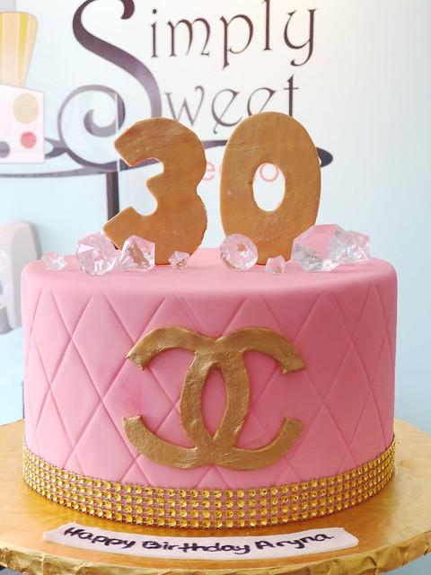 Coco Chanel Cake