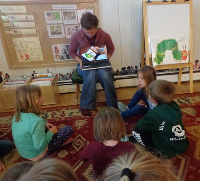 The Very Hungry Caterpillar read by Eric Carle