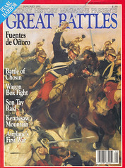 magazine - military history magazine - great battles - 1992 january