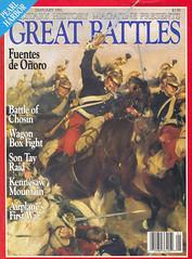 magazine - military history magazine - great battles - 1992 january