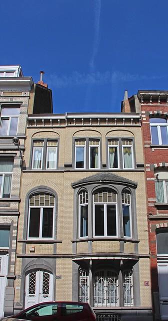 BRUXELLES - Art Nouveau / Arch. E. RAMAEKERS (1864-1941)