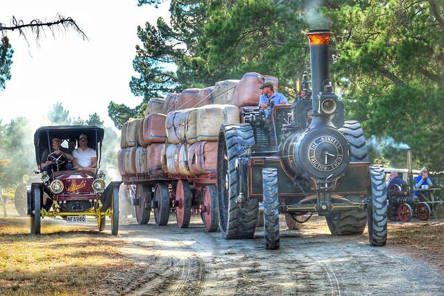 Stanley Steamer & Burrell Traction engine.