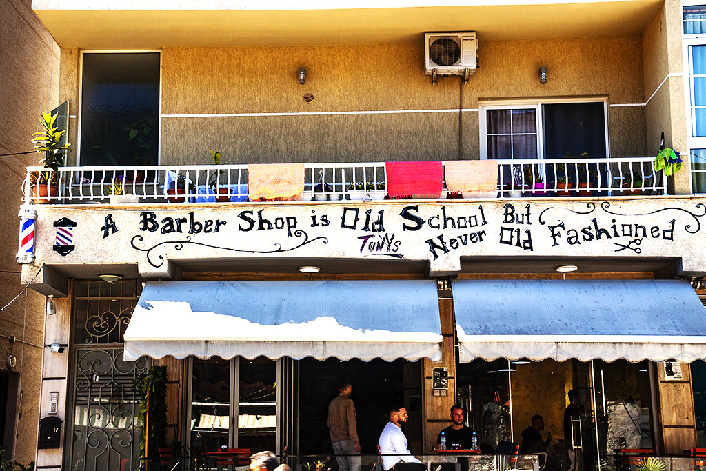 A Barber Shop is Old School But Never Old Fashioned on 4-25-21--Durres