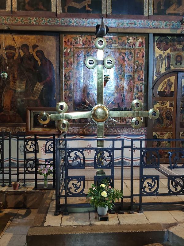 Великий Новгород - Новгородский кремль (Детинец) - Крест главного купола в Софийском соборе