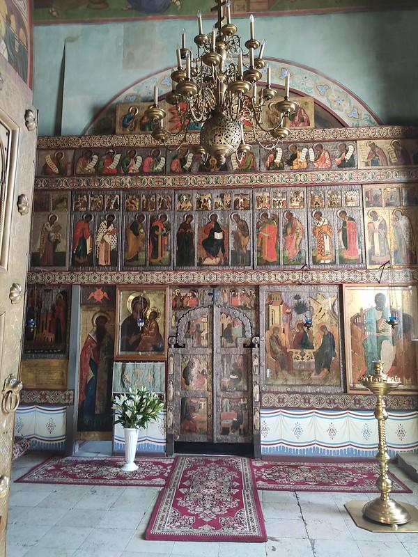 Великий Новгород - Новгородский кремль (Детинец) - Иконы в Софийском соборе