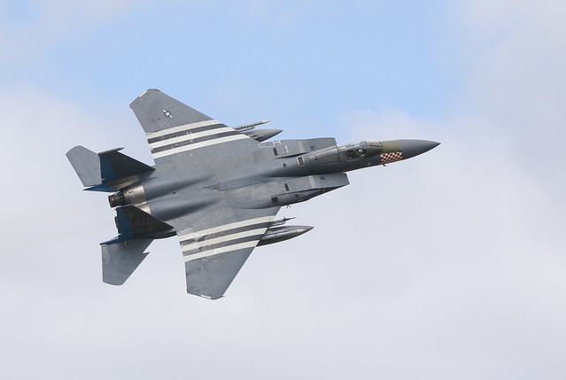 493rd The King F-15c
