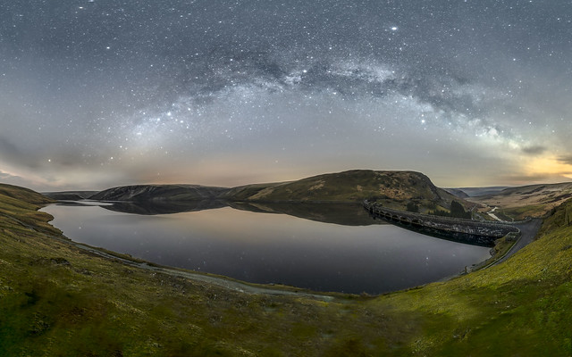 Milky Way arch over the Elan Valley!