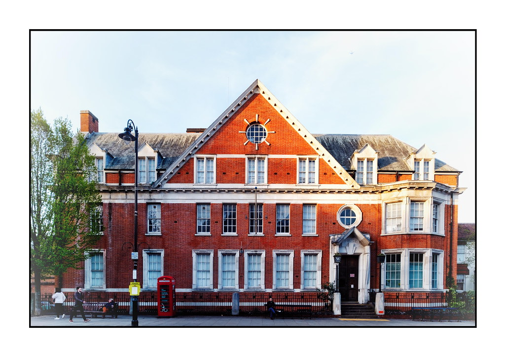 Once Hampstead Police Station …