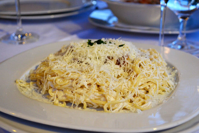 Goat's cheese spaghetti, Croatia