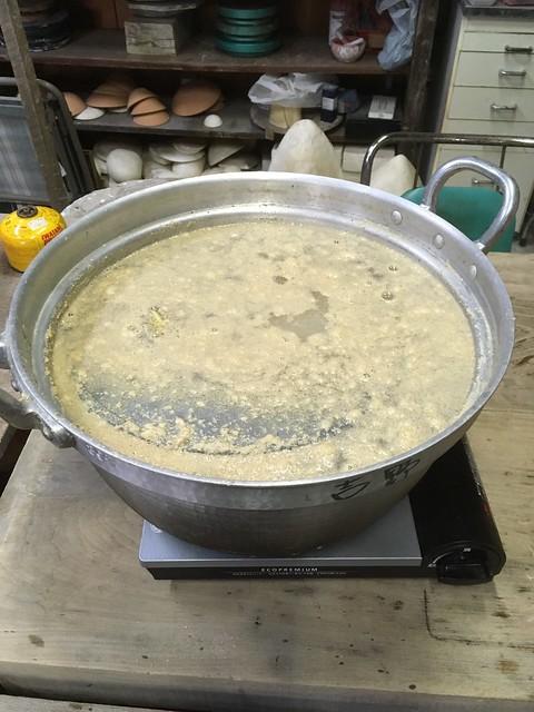 竹の子ご飯を作る