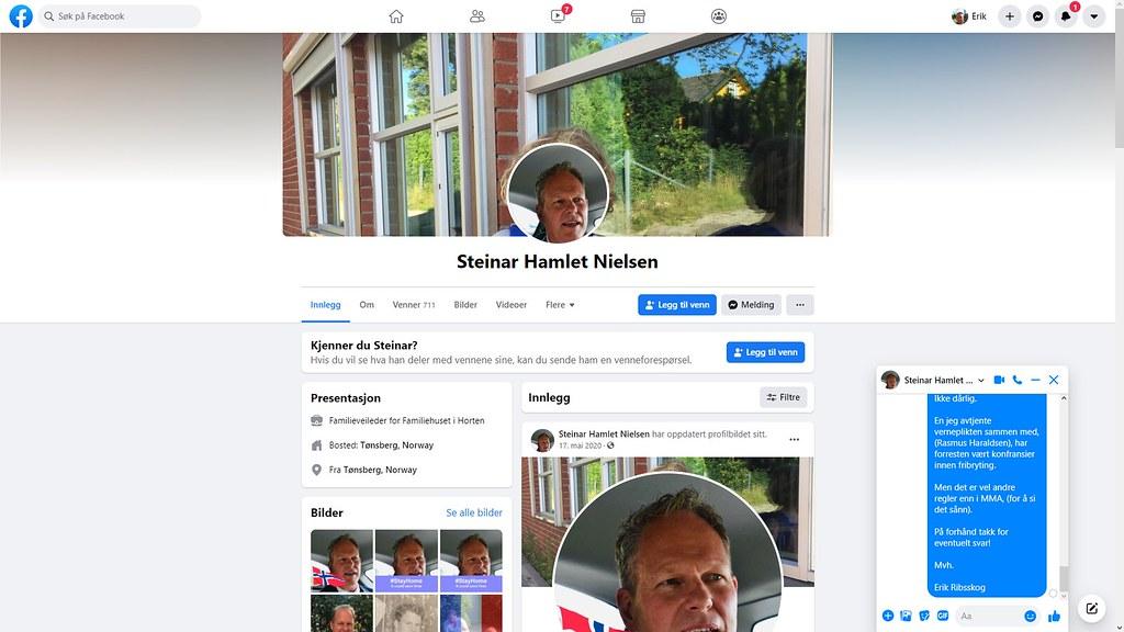 steinar nielsen facebook 1
