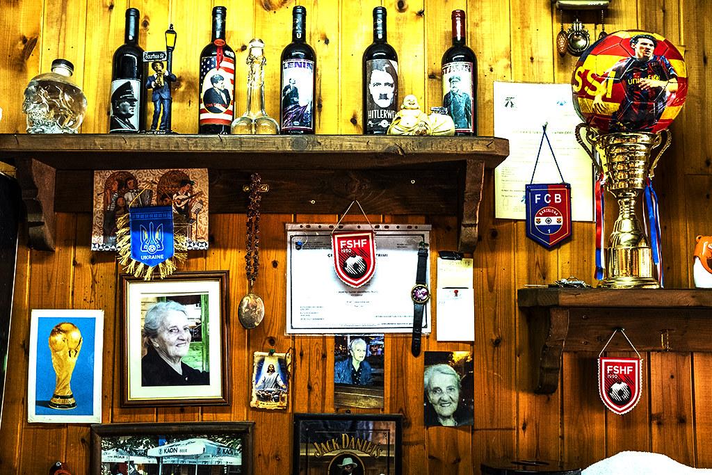 Kaon Bar and Cafe on Ibrahim Rugova Street on 4-25-21--Tirana 2