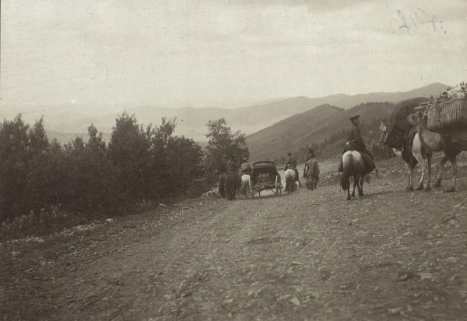Спуск с горы Тологой к Кяхтинской долине