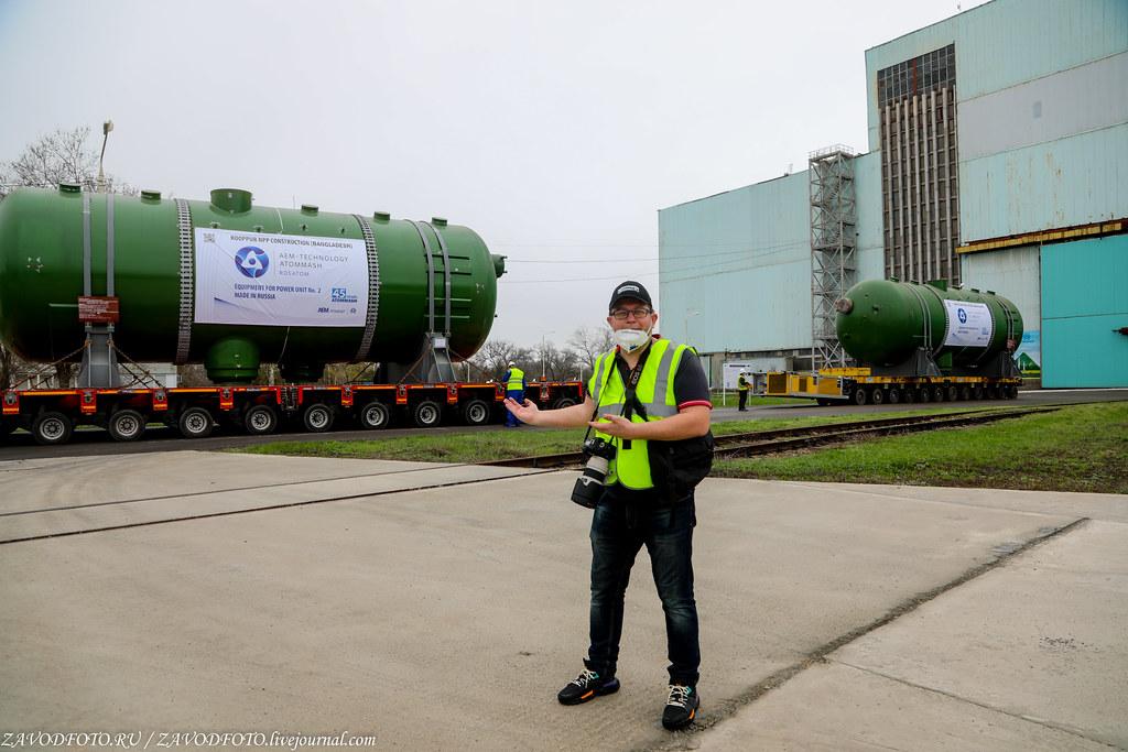 Как Атоммаш отправлял ценный груз на АЭС «Руппур» 999A9235