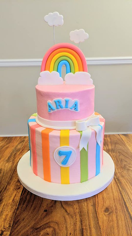 Cake by Snow Bird Bakery