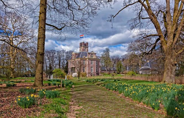 The estate Oldenaller in spring