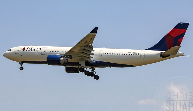 Delta Airlines/Airbus A330-223/N858NW