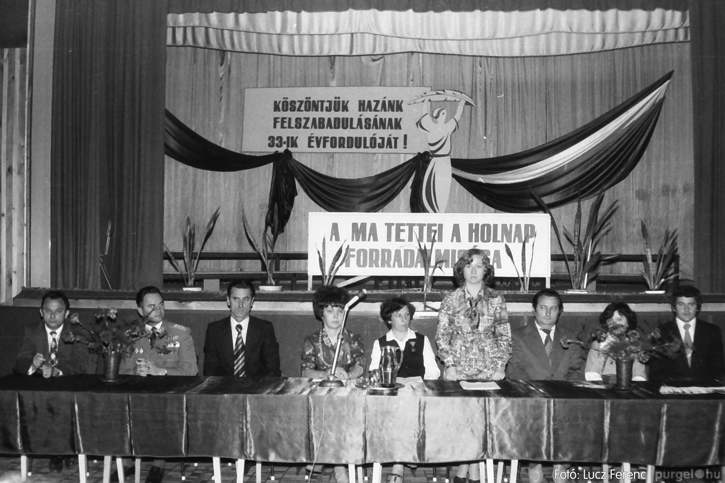 109. 1978. Április 4-i ünnepségek 026. - Fotó: Lucz Ferenc.jpg