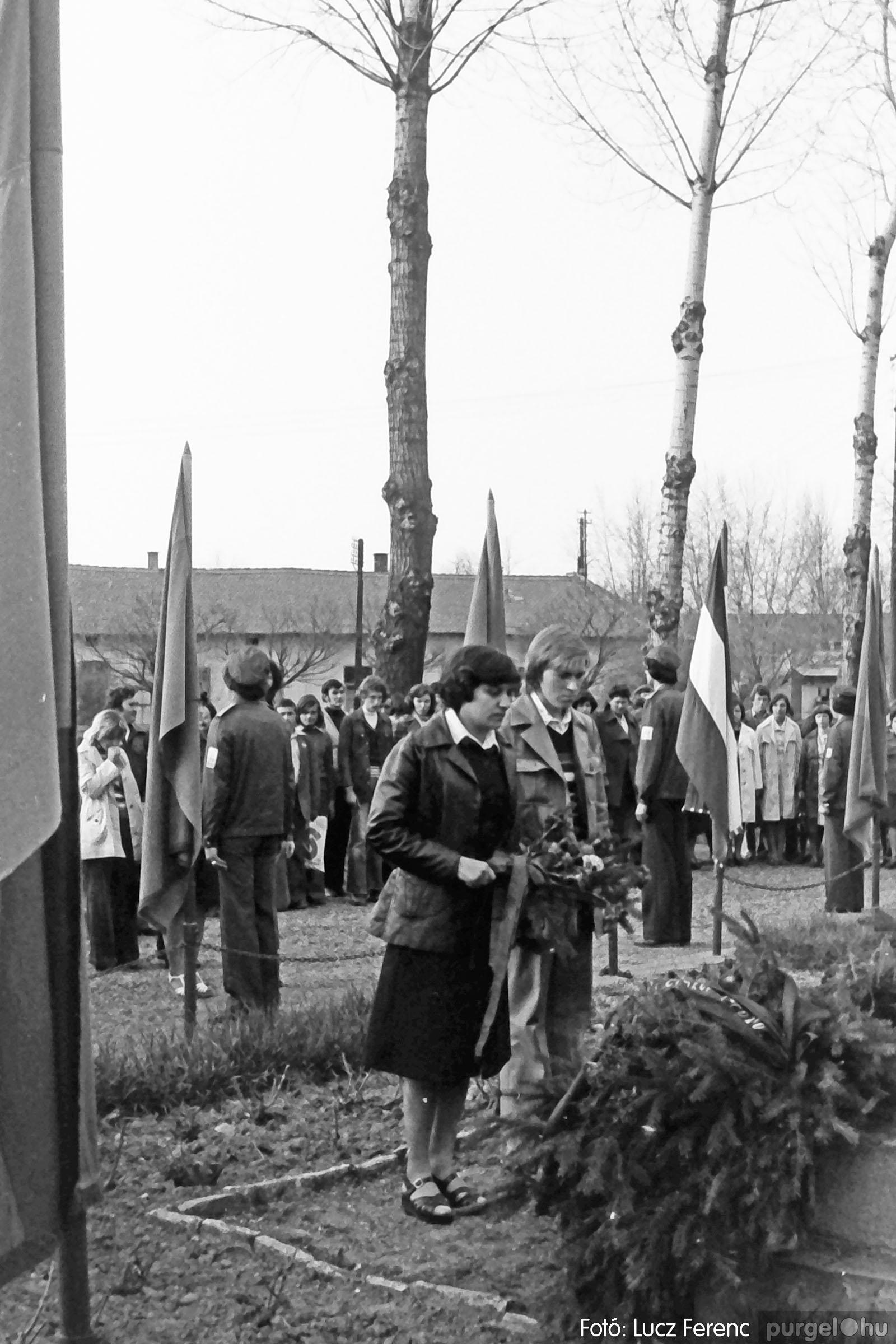 109. 1978. Április 4-i ünnepségek 018. - Fotó: Lucz Ferenc.jpg