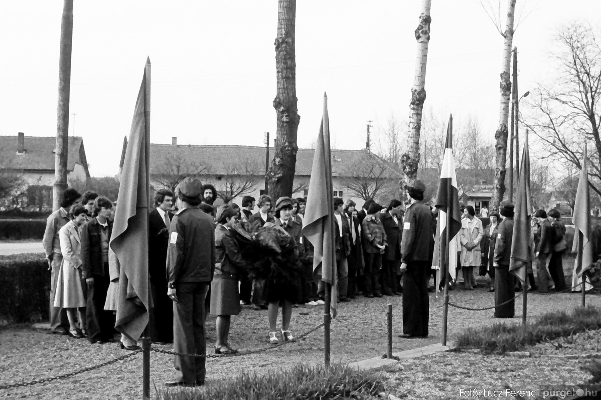 109. 1978. Április 4-i ünnepségek 011. - Fotó: Lucz Ferenc.jpg
