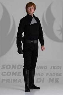 Luke Skywalker black suit - Luca