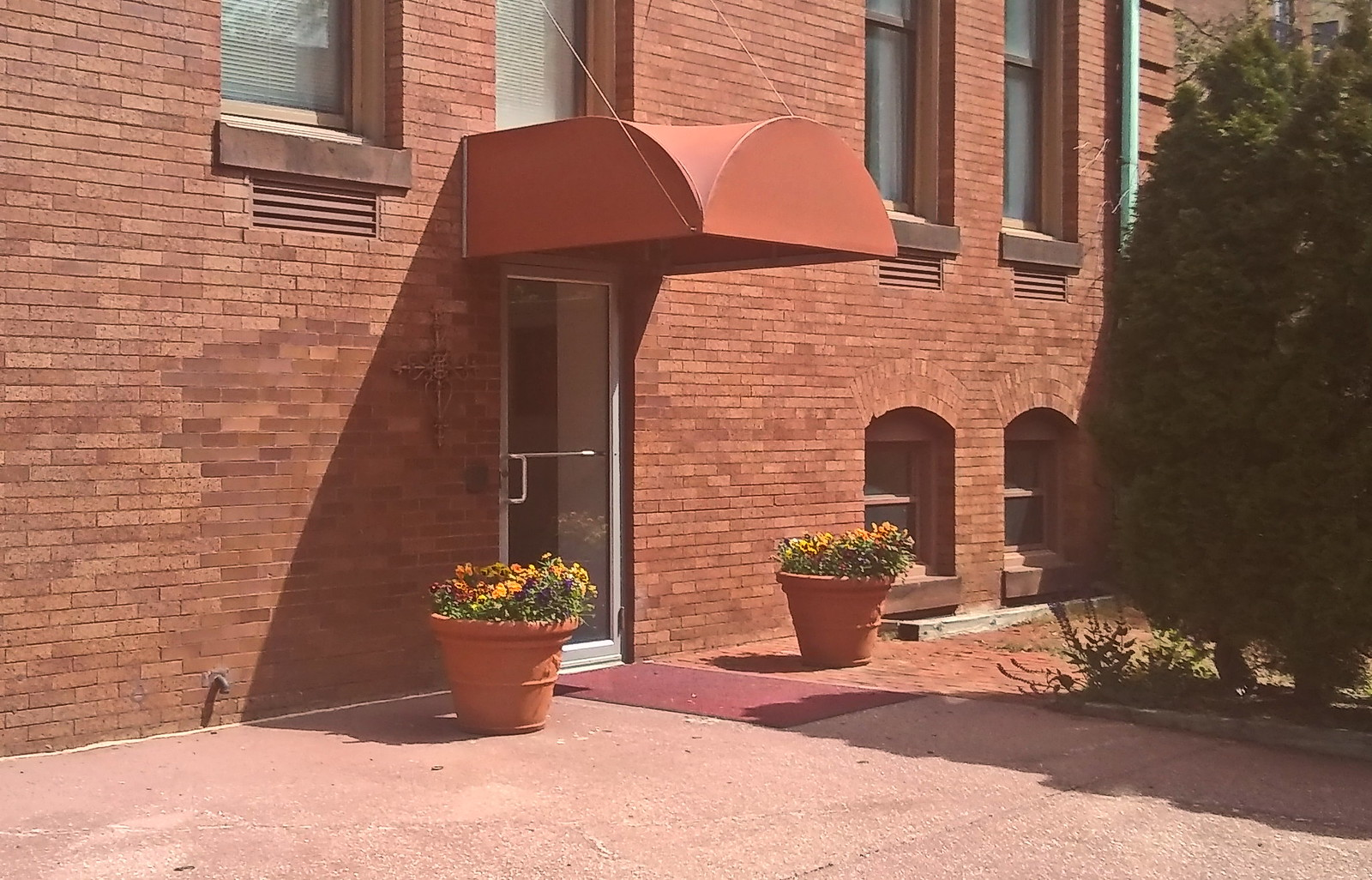 Small Office Door Awning -- Hoffman Awning Baltimore