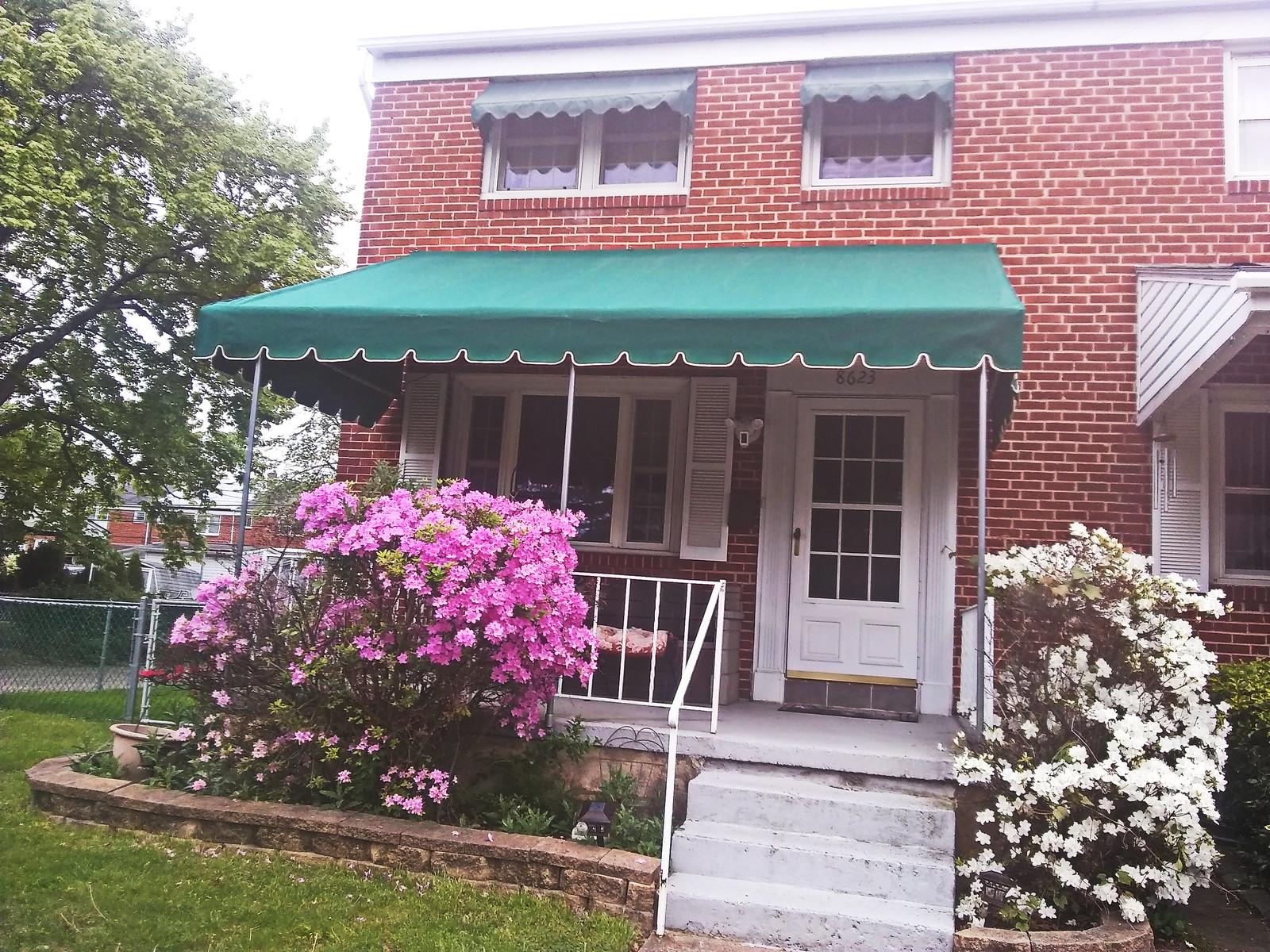 Front Porch Awning -Baltimore- Hoffman Awning Baltimore