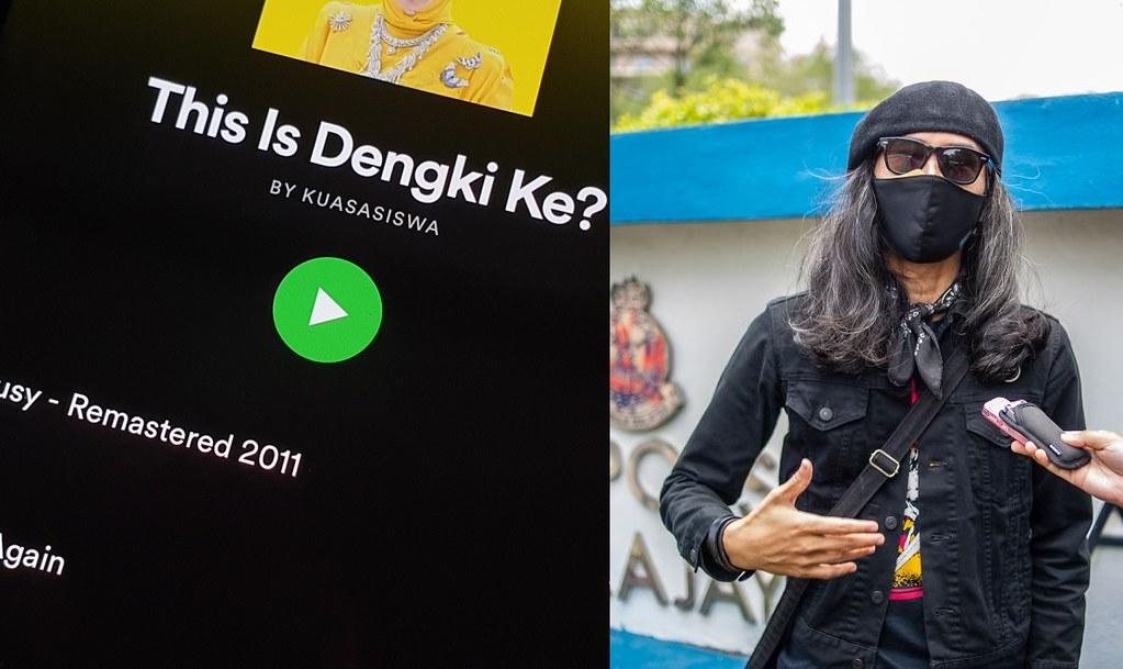 馬來西亞藝術家法米·惹札因為諷刺皇室再度遭警方逮捕。(圖片來源:SoyaCincau)