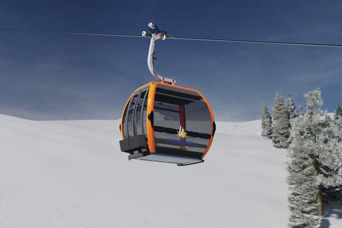 Nová 10kabinková lanovka na Kreischbergu