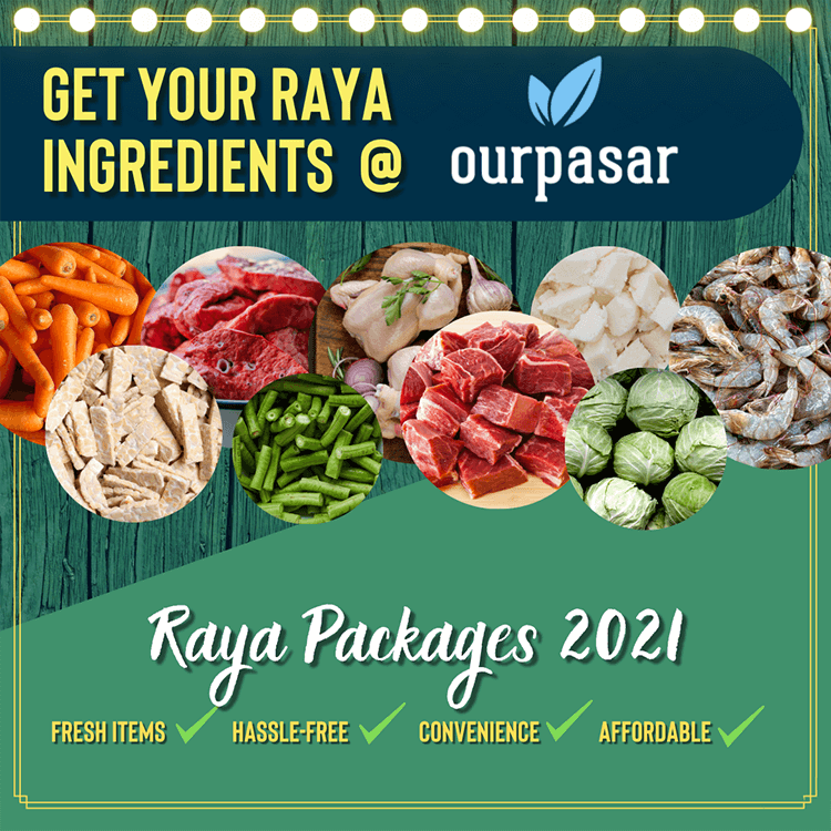 OurPasar Raya Packages promotion