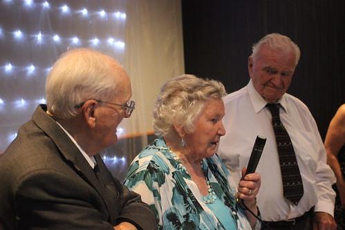 Celebrating 90th Birthdays of John Brophy, Dora Murphy, Johnny Desmond