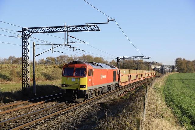 60017 at Daresbury on STVA's
