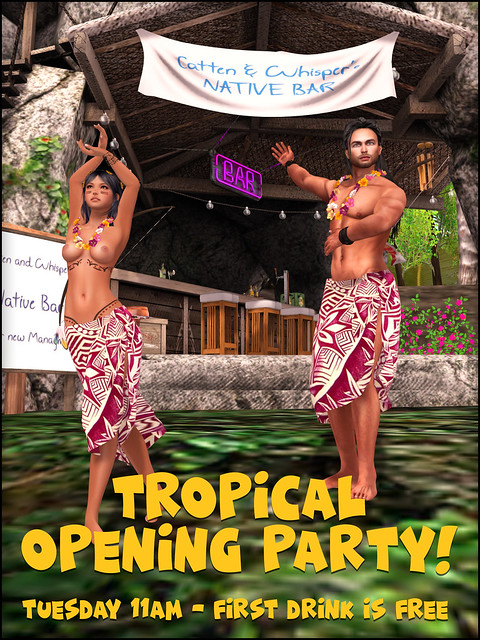 Tropical Party at the Native Bar