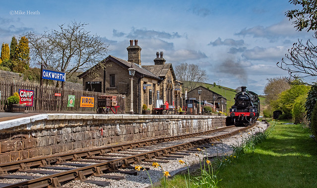 78022 - Keighley & Worth Valley railway - 25 April 2021 (1)