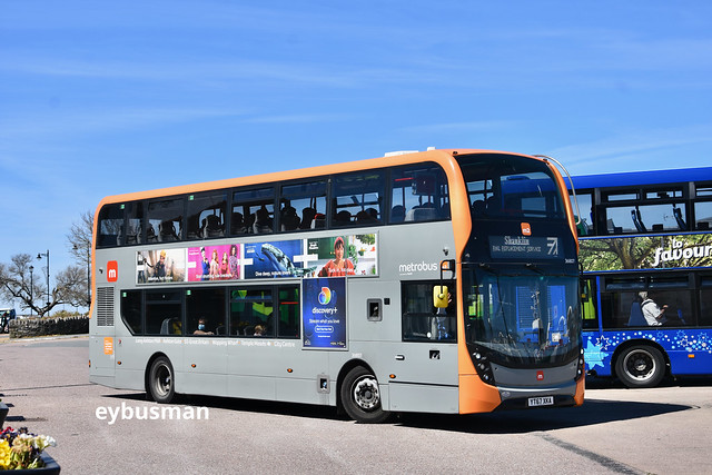 First West of England 36807, YT67XKA.