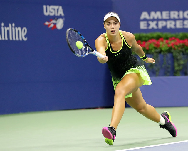 Ana Konjuh in Action