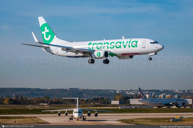 ORY.2016 | #Transavia.France #TO #Boeing #B737-800 #F-GZHU | #AWP-CHR